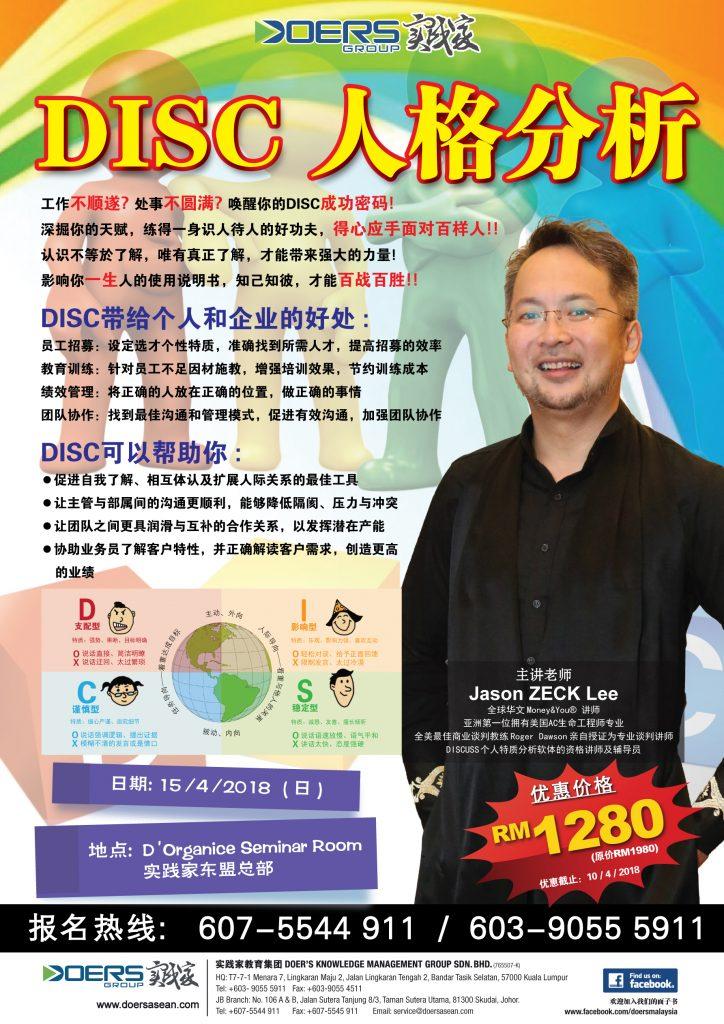 DISC Personality Program