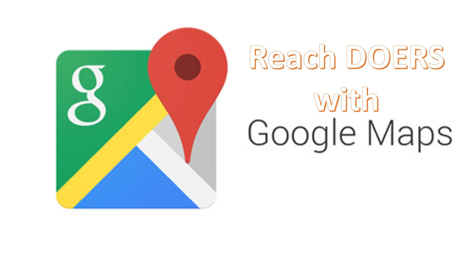 ReachDoersWithGoogleMaps